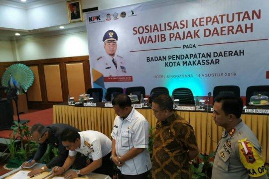 KPK dorong optimalisasi PBB-KB di Sulawesi Selatan