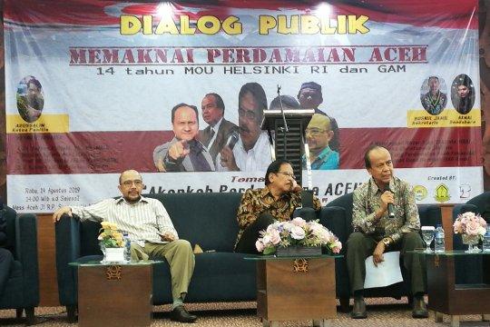 Sofyan Djalil: Ciptakan energi positif rawat perdamaian Aceh