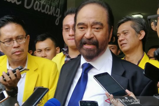 Surya Paloh belum tahu soal susunan kabinet Jokowi-Ma'ruf