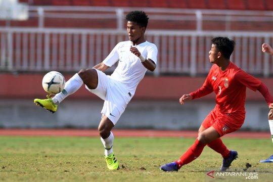 Susunan pemain timnas U-18 di semifinal Piala AFF kontra Malaysia