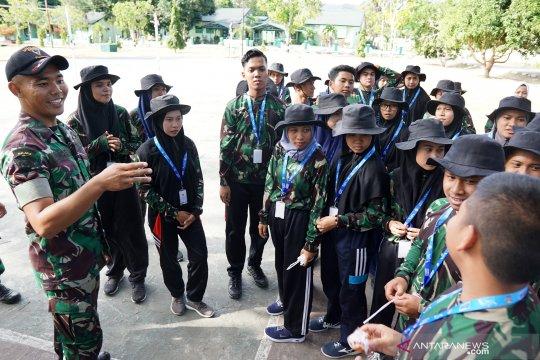 Yonif 713 berikan pembekalan bagi peserta SMN Jatim