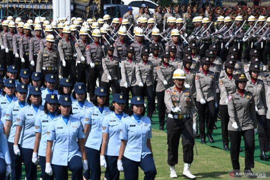 Ribuan personel TNI-Polri jaga perayaan HUT RI di Istana Merdeka