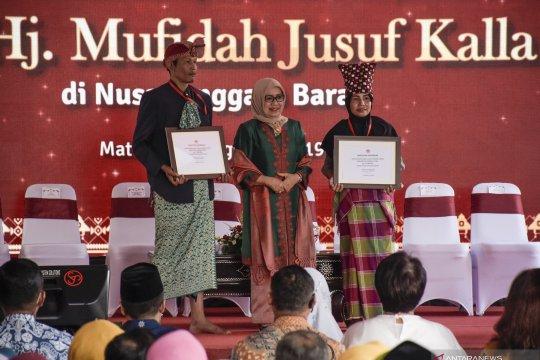 Kunjungan Mufidah Jusuf Kalla ke Lombok