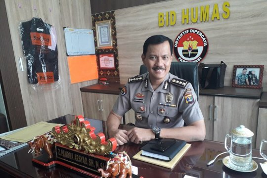 Polda Lampung sambut HUT RI dengan daki gunung Rajabasa