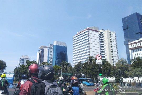 Cuaca Jakarta Kamis diperkirakan berawan