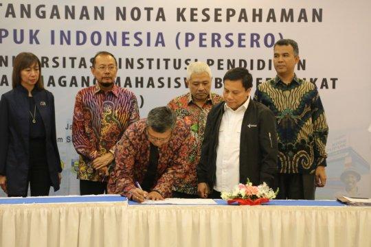 Pupuk Indonesia gelar magang bersertifikat bagi 20 perguruan tinggi