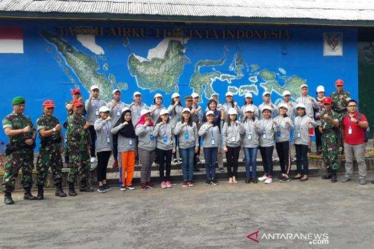 Peserta SMN Sulut ikuti bela negara di Rindam IV/Diponegoro