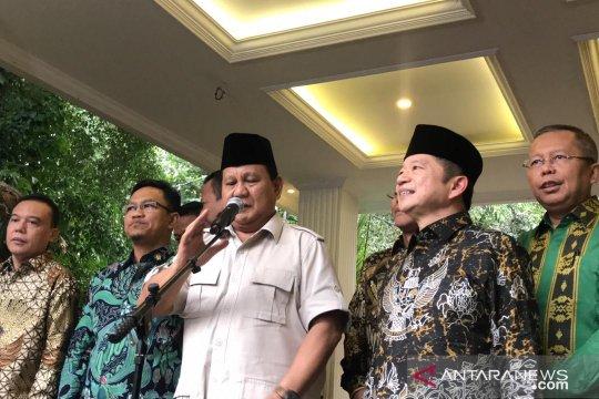 Prabowo: Pertemuan dengan Suharso menyambung komunikasi politik