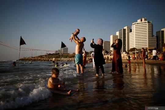 Israel tembaki orang bersenjata Palestina di Jalur Gaza, 3 orang tewas