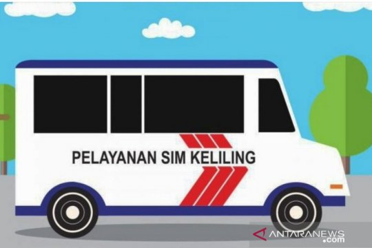 Polda Metro siapkan empat titik layanan SIM Keliling