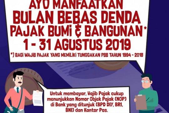 Realisasi PBB Pemkot Yogyakarta baru capai 55,15 persen
