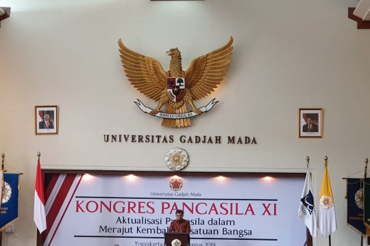Wapres minta akademisi UGM ciptakan indeks Pancasila