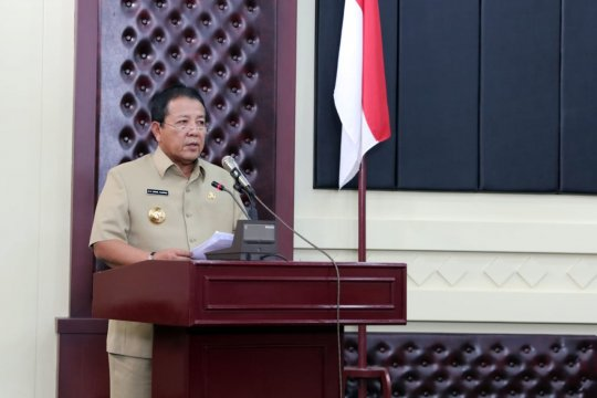 Gubernur Lampung ajak anggota DPRD terpilih bangun daerah