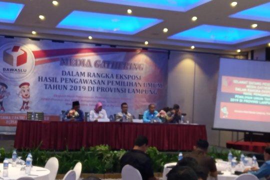 Bawaslu Lampung berikan ribuan rekomendasi selama Pemilu 2019