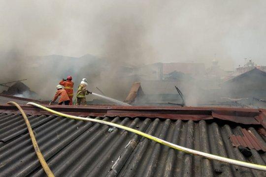 Kebakaran rumah Cakung Jakarta Timur dipicu kebocoran gas