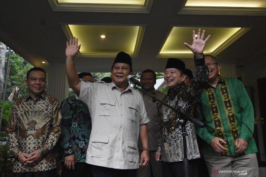 Pertemuan Prabowo dengan Suharso Monoarfa
