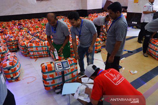 Persiapan kepulangan jamaah haji Indonesia