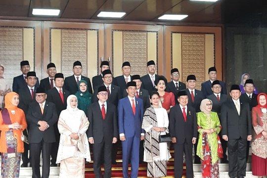 Jokowi dukung MK kembangkan tata kelola lembaga peradilan