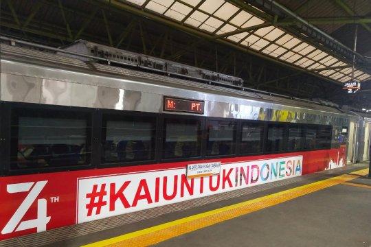 KAI Daop Jakarta luncurkan 8 kereta api tematik kemerdekaan