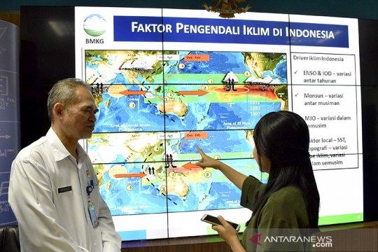 Jakarta cerah berawan di Senin pertama September