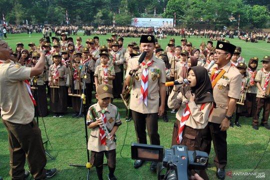 HUT ke-58 Pramuka di Kota Bogor