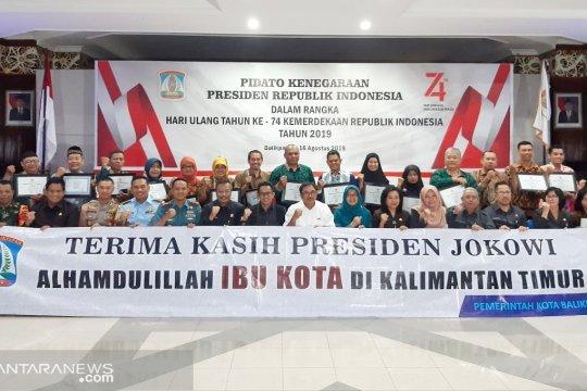 Balikpapan: Terimakasih Presiden Jokowi