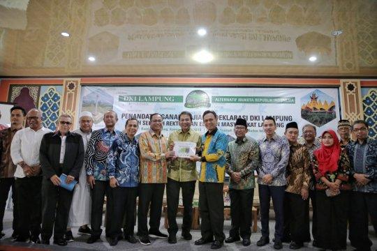 Relawan DKI Lampung apresiasi Jokowi terkait pemindahan ibu kota