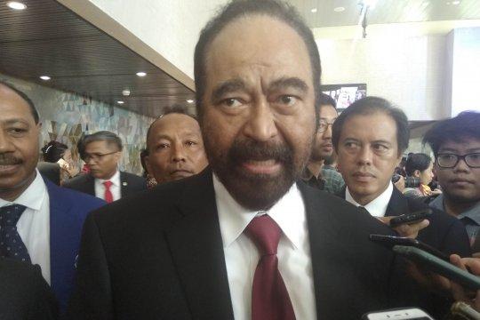 Surya Paloh mengaku hanya makan dengan Jokowi di Singapura