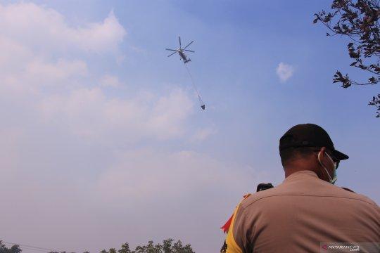 Polres Palangka Raya tetapkan tiga tersangka pembakar lahan