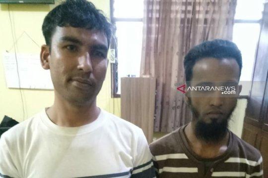 Polisi tangkap pengungsi Rohingya di Medan