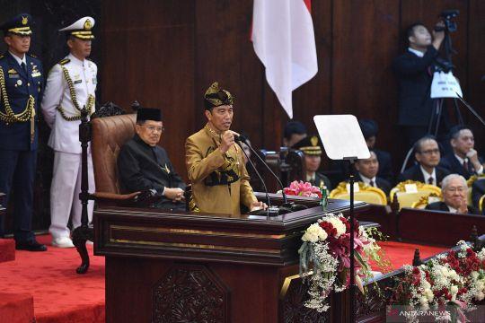 Pidato kenegaraan presiden Jokowi