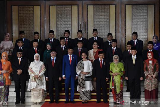 Jokowi paparkan kinerja lembaga kehakiman