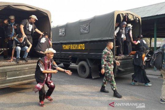 Peserta SMN asal Sumsel ikuti kegiatan bersama TNI di Kalteng