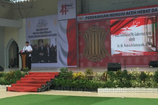 "Menjaga perdamaian menuju ""Aceh Hebat"""