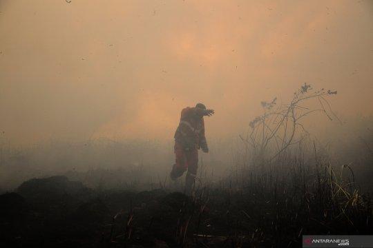 260 titik panas tersebar di wilayah Sumatera