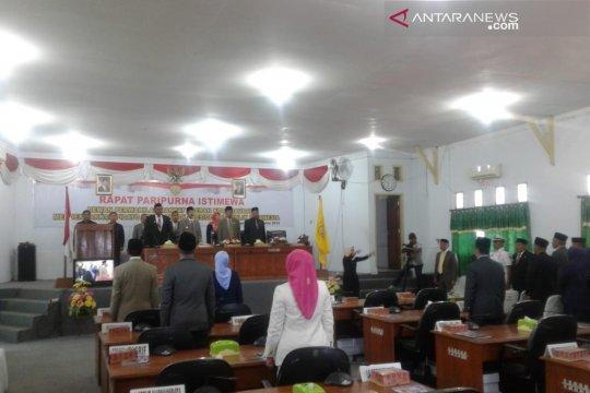 Rapat paripurna DPRD Baubau tentang pidato kenegaraan tidak kuorum