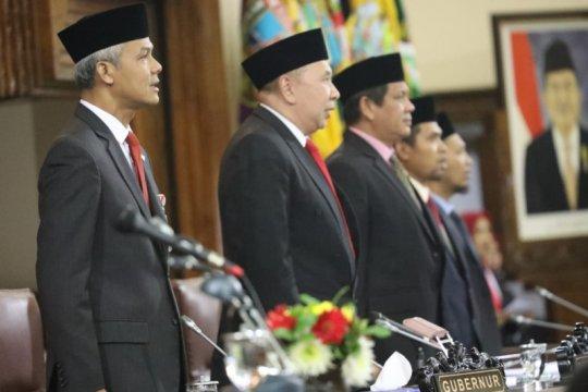 Ganjar: pidato Presiden Jokowi ingatkan ideologi dan karakter bangsa