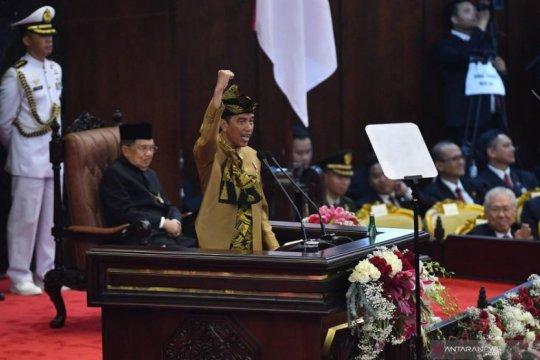 Pengamat sebut pidato Jokowi isyarat untuk calon menteri