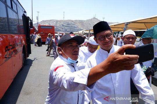 Lukman Hakim Saifuddin meninjau layanan bus salawat