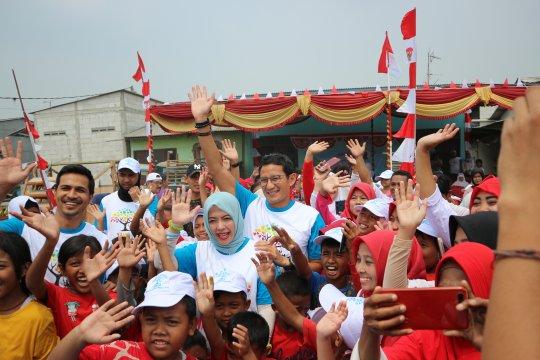 Rayakan HUT RI, Nur Asia Uno gelar bakti sosial di Cilincing