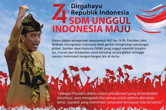 SDM unggul Indonesia maju