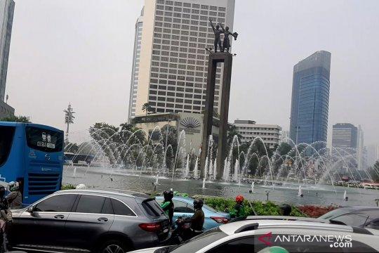 Di Hari Kemerdekaan pagi ini, Jakarta belum merdeka dari polusi udara