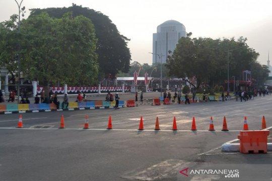 Polda Metro atur lalu lintas di sekitar Istana Negara