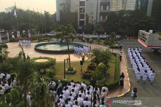 Rayakan HUT RI, Kementerian BUMN gelar bakti sosial di Jakarta