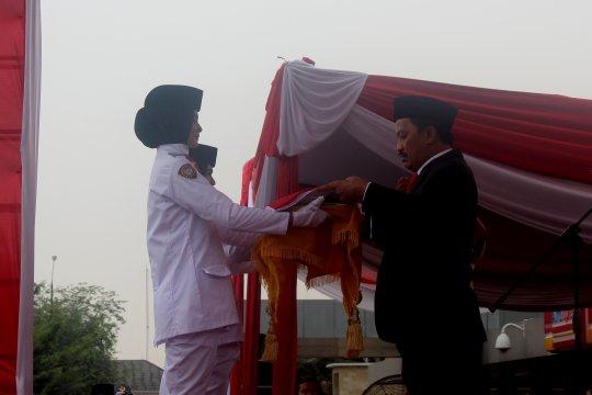 BUMN Jambi gelar upacara HUT ke-74 RI di Bandara Sultan Thaha