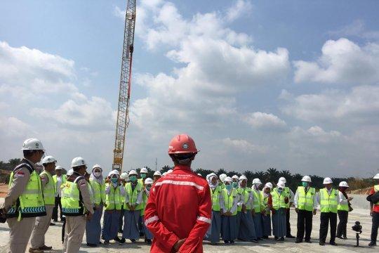 Begini reaksi peserta SMN Yogyakarta lihat pembangunan Tol Pekanbaru