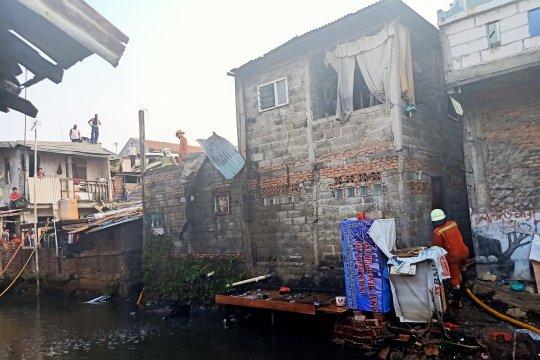 Peserta lomba lupa padamkan kompor, empat bangunan terbakar