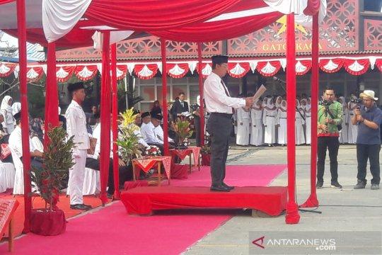 Lima BUMN merayakan HUT Kemerdekaan ke-74 RI di Kulon Progo