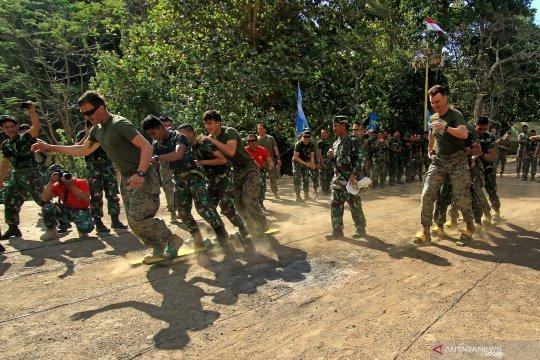 Marinir Indonesia dan Amerika Serikat semarakkan HUT ke-74 Kemerdekaan RI