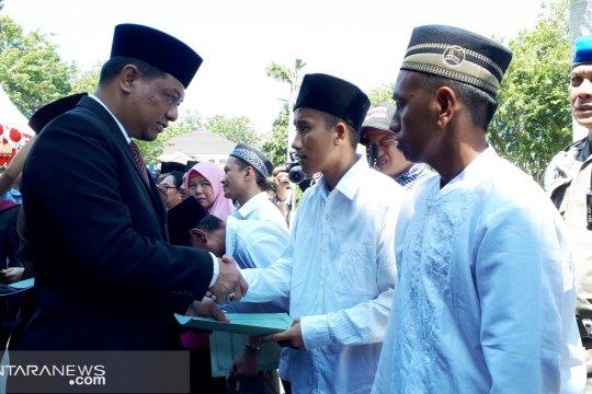 18 narapidana di Sulawesi Tengah mendapat remisi bebas 17 Agustus
